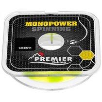 Леска Premier Fishing Monopower Spinning 0,20мм 100м F.Yellow Nylon PR-MS-Y-020-100 - Тонар