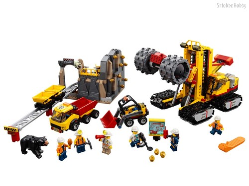 Конструктор City Mining Шахта - Lego