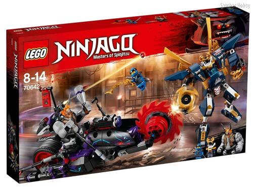 Конструктор LEGO 70642 Ninjago Киллоу против Самурая Икс - Lego