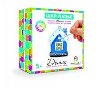 Набор для творчества ШАР-ПАПЬЕ В02623 Домик в коробке со стразами - Шар-Папье