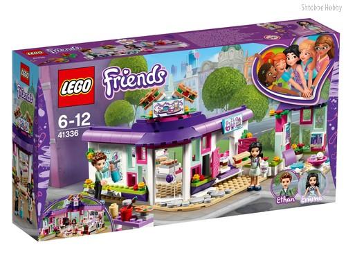 Конструктор LEGO 41336 Friends Арт-кафе Эммы - Lego
