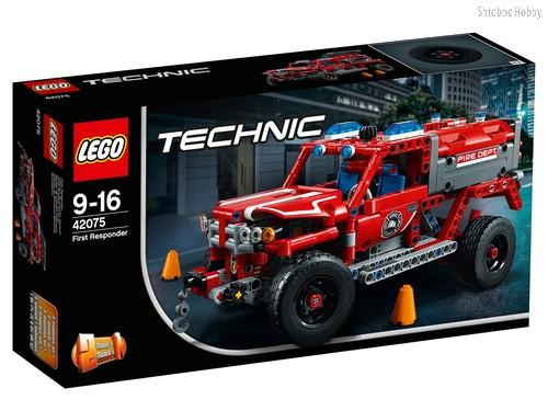 Конструктор LEGO 42075 Technic Служба быстрого реагирования - Lego