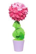 Набор для творчества ВОЛШЕБНАЯ МАСТЕРСКАЯ ТПМ-05 Топиарий Гортензия розовая - Волшебная Мастерская