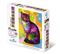 Пазл ORIGAMI 5564 Кошка Popart - Origami