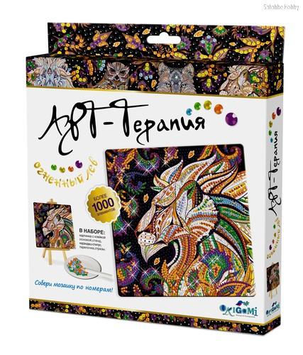 Алмазная мозаика ORIGAMI 03216 Огненный Лев - Origami
