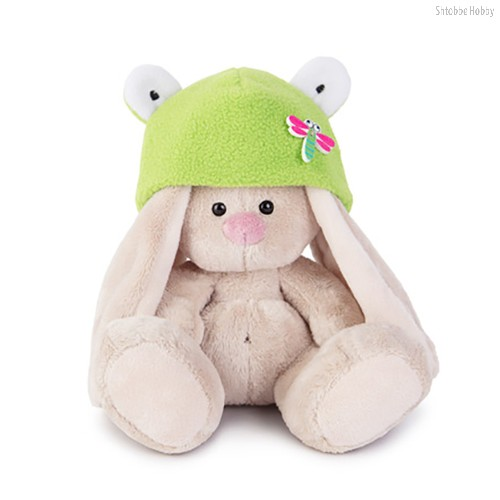 Зайка Ми в шапке-лягушка (малыш) - Буди Баса