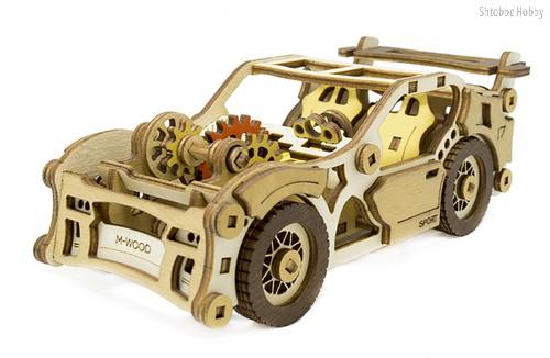 Конструктор M-WOOD MW-401 Спорткар Velox - M-Wood