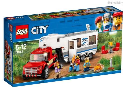 Конструктор LEGO 60182 City Great Vehicles Дом на колесах - Lego
