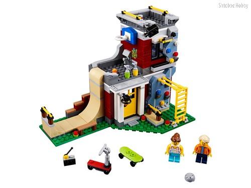 Конструктор Creator Скейт-площадка (модульная сборка) - Lego