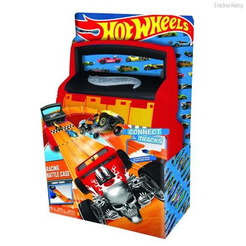 Кейс для хранения HOT WHEELS HWCC4 автотрек оранжевый - Mattel