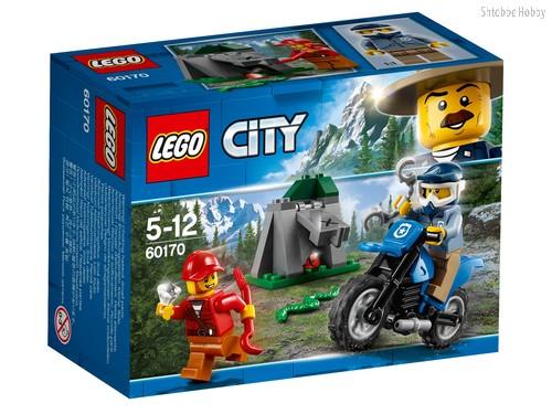 Конструктор LEGO 60170 City Police Погоня на внедорожниках - Lego