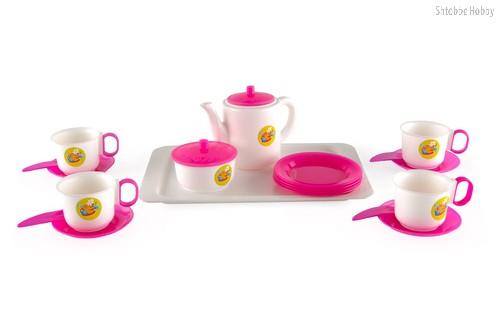 Набор детской посуды Чайный - Пластмастер