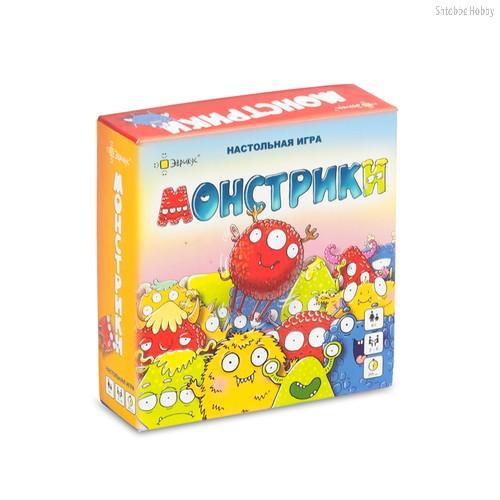 Настольная игра ЭВРИКУС BG-17023 Монстрики - Эврикус