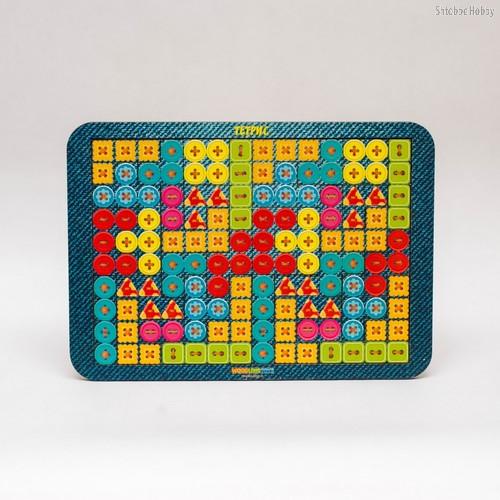 Логическая игра WOODLANDTOYS 65109 Тетрис большой Пуговки - WOODLAND