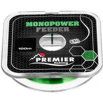Леска Premier Fishing Monopower Feeder 0,16мм 100м Green Nylon PR-MF-G-016-100 - Тонар
