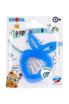 Прорезыватель KNOPA C6 Клубничка, синяя - Knopa