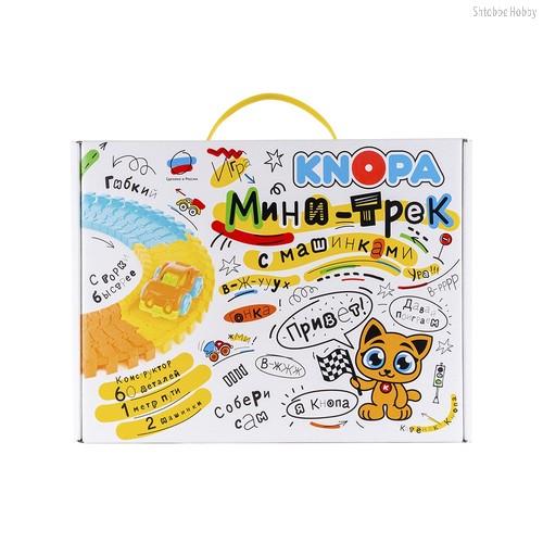 Игровой набор KNOPA 86206 Мини-трек с машинками - Knopa