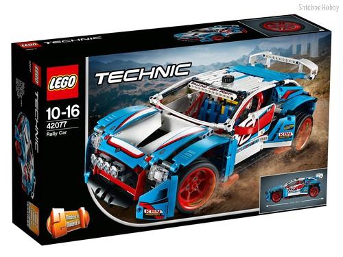 Конструктор LEGO 42077 Technic Гоночный автомобиль - Lego