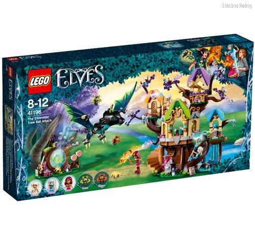 Конструктор Elves Нападение летучих мышей на Дерево эльфийских звёзд - Lego