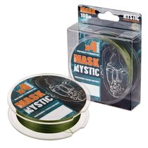 Леска плетеная Akkoi Mask Mystic X4 0,28мм 100м Deep Green MM4DG/100-0,28 - Akkoi
