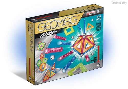Магнитный конструктор GEOMAG 532 Glitter 44 детали - Geomag