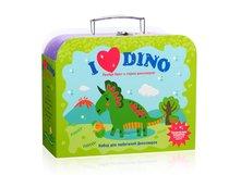Набор для творчества ПОДАРОК В ЧЕМОДАНЕ TR-112 Я люблю динозавров - Подарок в чемодане