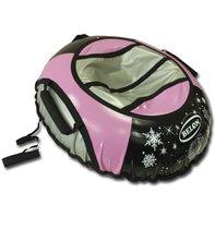Тюбинг 85 см, с тентом, цвет розовый - Belon