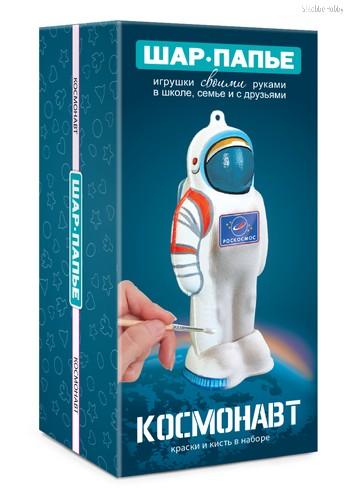Набор для творчества ШАР-ПАПЬЕ В001123 Космонавт - Шар-Папье