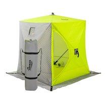 Зимняя палатка Куб Premier трехслойная 1,5х1,5 (PR-ISCI-150YLG) - Тонар