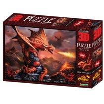 Стерео пазл PRIME 3D 10090 Огненный дракон - Prime 3d