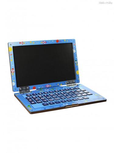 Обучающий набор WOODLANDTOYS 139102 Ноутбук Космос - WOODLAND