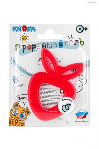 Прорезыватель KNOPA C8 Клубничка, красная - Knopa