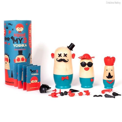 """Игровой набор """"Выдумай свою матрешку"""" Портреты - Kipod Toys"""
