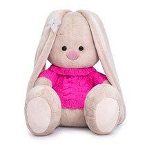 Мягкая игрушка BUDI BASA SidS-344 Зайка Ми в розовом свитере 18 см - Буди Баса
