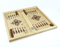 Настольная игра ДЕСЯТОЕ КОРОЛЕВСТВО 2842 Нарды деревянные (40см х40см)