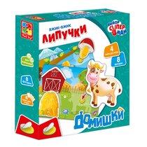 Набор VLADI TOYS VT1302-20 Липучки домишки - Vladi Toys