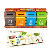 Обучающий набор WOODLANDTOYS 133101 Сортировка мусора - WOODLAND