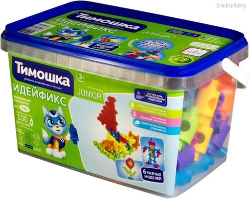 Конструктор ТИМОШКА 56 Идейфикс 100 деталей - Тимошка
