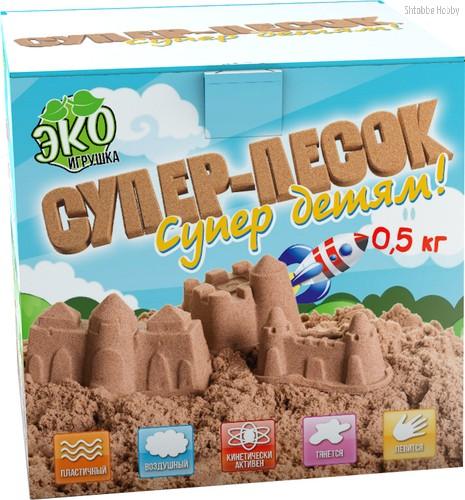 Песок ИННОВАЦИИ ДЛЯ ДЕТЕЙ 837 натуральный 0,5 кг - Инновации Для Детей