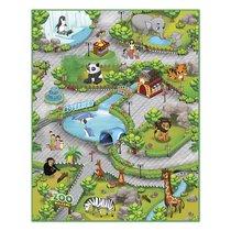Интерактивная игра KNOPA 657027 коврик Зоопарк 3D - Knopa