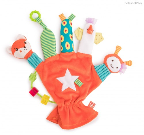 """Игрушка HAPPY BABY 330672 перчатка """"дай пять"""" - Happy Baby"""