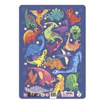 Пазл DODO R300181 Динозавры в рамке - Dodo