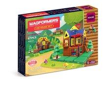 Магнитный конструктор Magformers Log House Set - Magformers