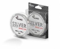 Леска Allvega Silver (50м) 0.09мм (1,04кг) серебристая - Allvega