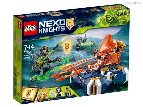 Конструктор LEGO 72001 Nexo Knights Летающая турнирная машина Ланса - Lego