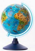 Глобус Евро 210 - Зоогеографический, детский - Globen