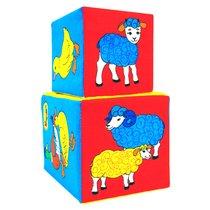 Кубики Чей детеныш - Мякиши