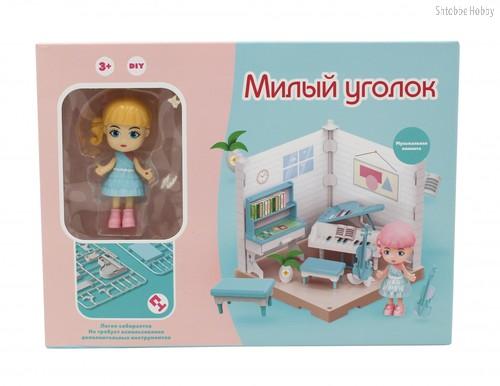 Игровой набор FUNKY TOYS FT3104 Милый уголок, музыкальная комната - Funky Toys
