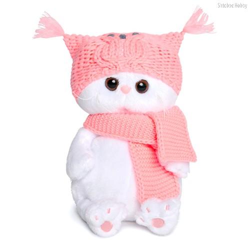 Мягкая игрушка BUDI BASA LB-022 Ли-Ли BABY в шапке-сова и шарфе - Буди Баса