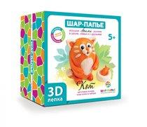 Набор для творчества ШАР-ПАПЬЕ В0268К 3D-лепка Кот - Шар-Папье